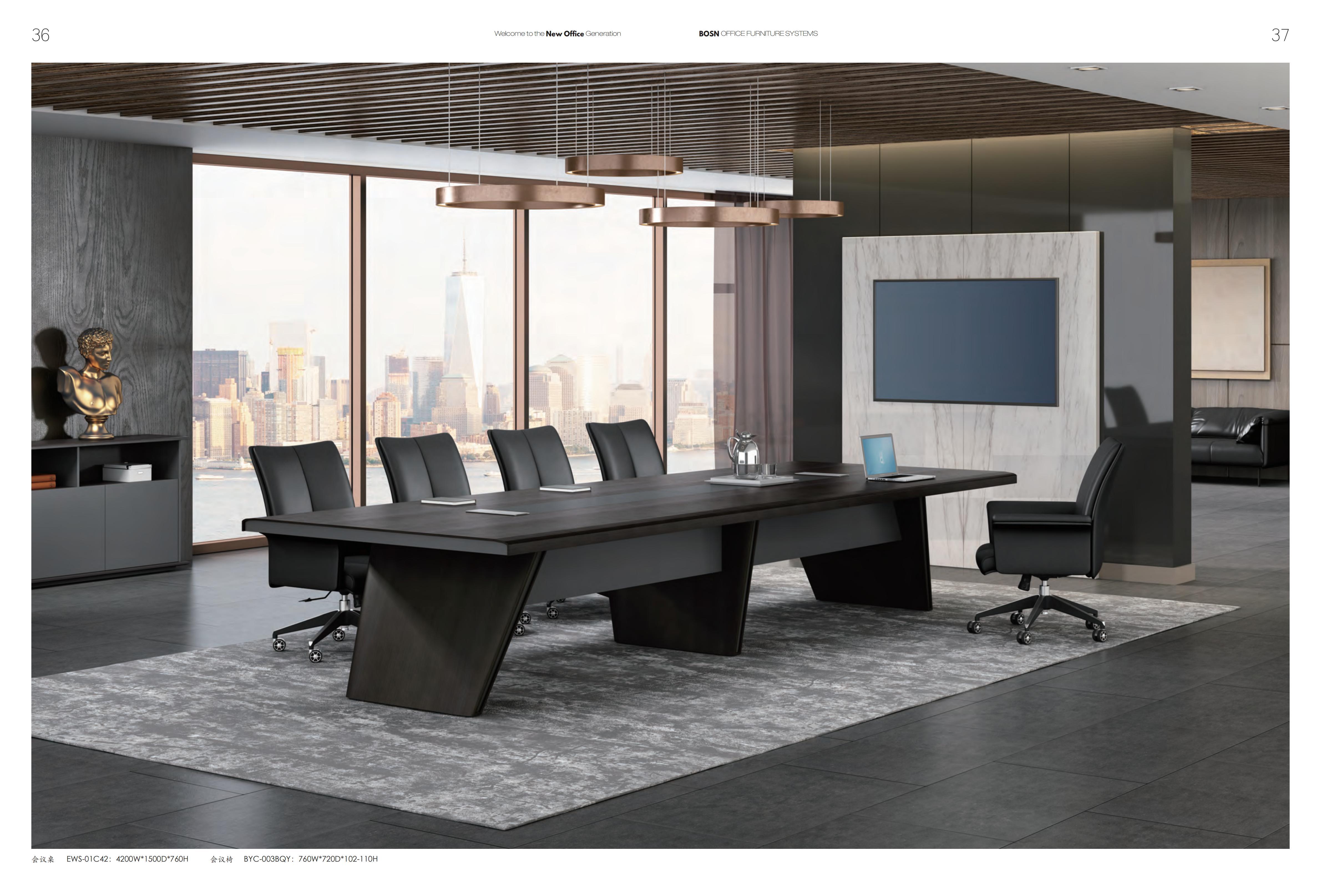 会议桌椅06